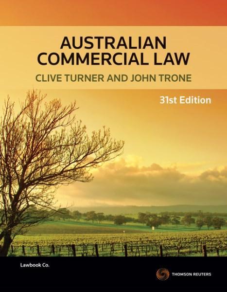 Australian Commercial Law 31e