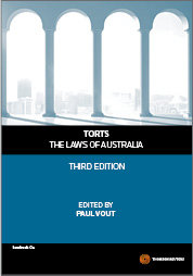 Torts: The Laws of Australia 3e - Book