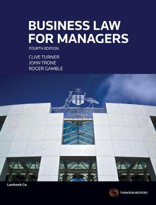 Business Law for Managers 4e