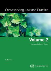 Conveyancing Law & Prac Vol 2