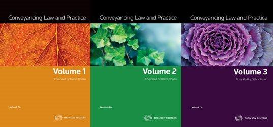 Conveyancing Law & Prac Vol 1 /2 / 3