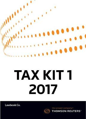 Tax Kit 1 2017 (Australian Tax Handbook 2017 + Fundamental Tax Legislation 2017)