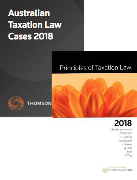 Tax Kit 3 2018 (Principles of Taxation Law 2018 / Australian Taxation Law Cases 2018)