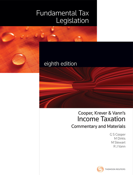 Tax Kit 8 2018 (Fundamental Tax Legislation 2018/ Income Taxation: Commentary & Materials 8e)