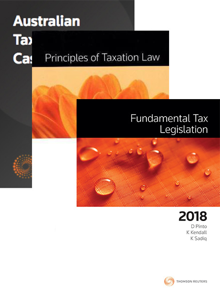 Tax Kit 5 2018 (Principles of Taxation Law 2018 / Fundamental Tax Legislation 2018/ Australian Taxation Law Cases 2018)