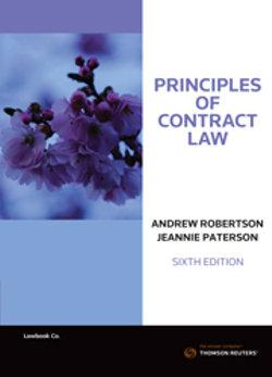 Principles of Contract Law 6e