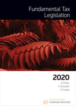 FUNDAMENTAL TAX LEGISLATION 2020