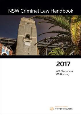 NSW Criminal Law Handbook 2017