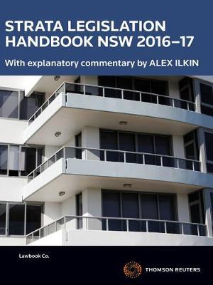 Strata Legislation Handbook NSW 2016-17