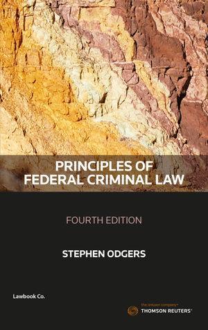 Principles of Federal Criminal Law 4e