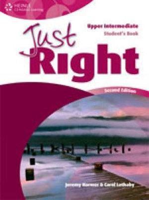 Just Right Upper Intermediate: Workbook with Audio CD