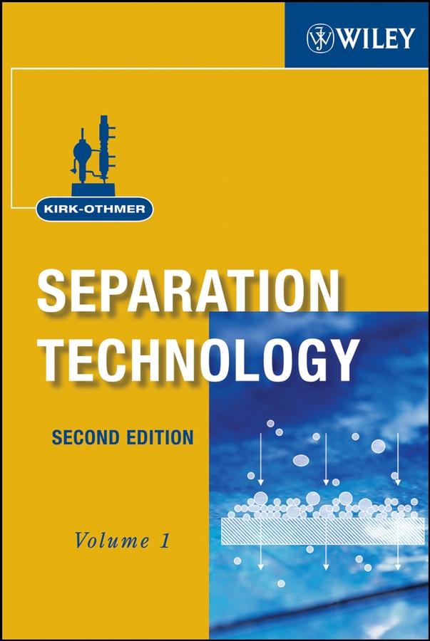 Kirk-Othmer Separation Technology, 2 Volume Set