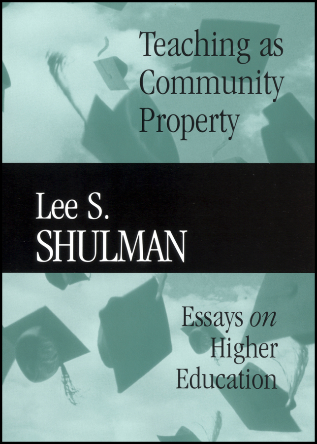 Teaching as Community Property