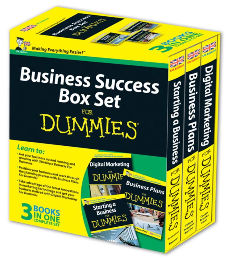 Business Success Box Set For Dummies