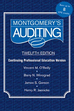 Montgomery Auditing Continuing Professional Education