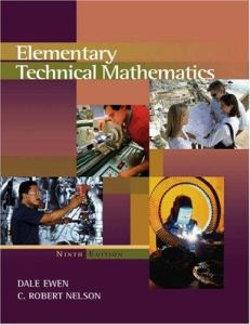 Elementary Technical Mathematics (with CengageNOW, Personal Tutor Printed Access Card)