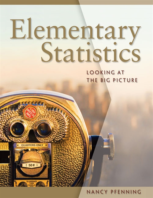 Elementary Statistics : Looking at the Big Picture