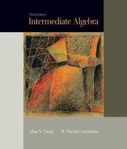 Intermediate Algebra, Updated Media Edition (with CD-ROM and MathNOW', Enhanced iLrn Math Tutorial, SBC Web Site Printed Access Card)
