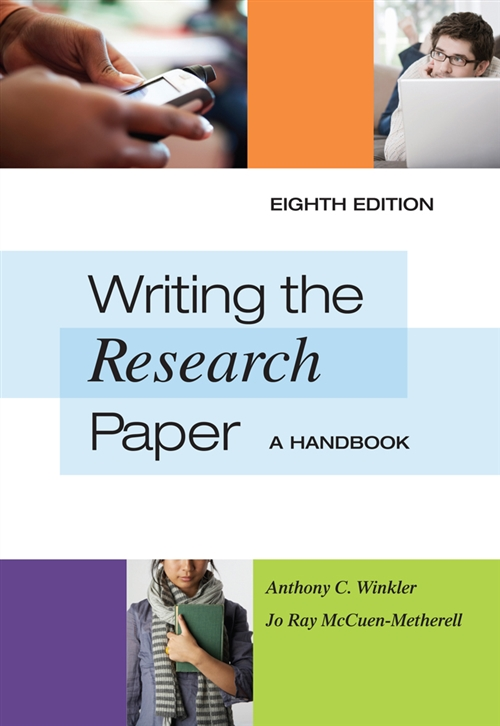 Writing the Research Paper : A Handbook, Spiral bound Version