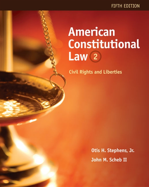 American Constitutional Law : Civil Rights and Liberties, Volume II
