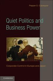 Quiet Politics and Business Power