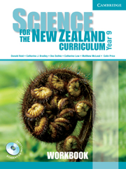 Science for the New Zealand Curriculum Year 9 Workbook and CD-ROM