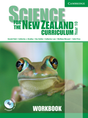 Science for the New Zealand Curriculum Year 10 Workbook and CD-ROM