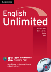 English Unlimited Upper Intermediate Teacher's Pack (Teacher's Book with DVD-ROM)