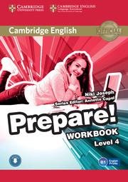 Cambridge English Prepare! Level 4 Workbook with Audio