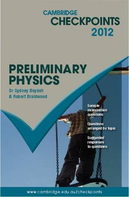 Cambridge Checkpoints Preliminary Physics