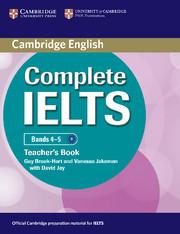 Complete IELTS Bands 4-5 Teacher's Book