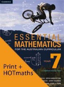 Essential Mathematics for the Australian Curriculum Year 7 and Cambridge HOTmaths Bundle