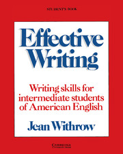 Effective Writing Student's book