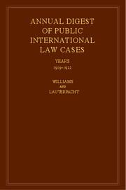 International Law Reports