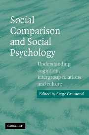 Social Comparison and Social Psychology