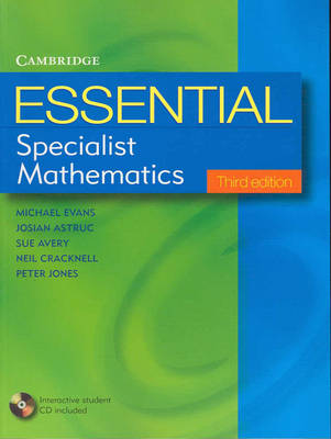 Essential Specialist Mathematics with Student CD-ROM
