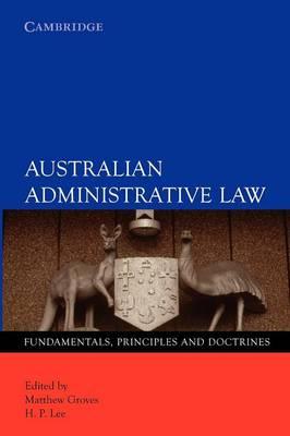 Australian Administrative Law