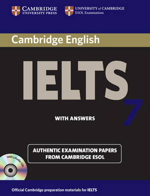 Cambridge IELTS 7 Self-study Pack (Student's Book with Answers and Audio CDs (2)): Examination Papers from University of Cambridge ESOL Examinations