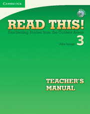 Read This! Level 3 Teacher's Manual with Audio CD