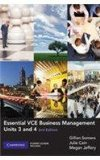 Essential VCE Business Management Units 3 and 4 with CD-ROM
