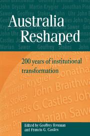 Australia Reshaped