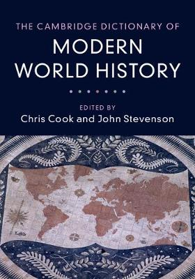 The Cambridge Dictionary of Modern World History