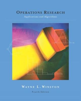 Operations Research: Applications & Algorithms + Cd