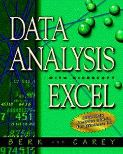 Data Analysis with Microsoft Excel : Windows 95 Edition
