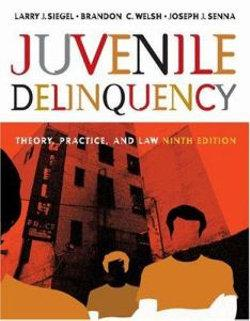 Juvenile Delinquency : Theory, Practice, and Law (with CD-ROM and InfoTrac®)