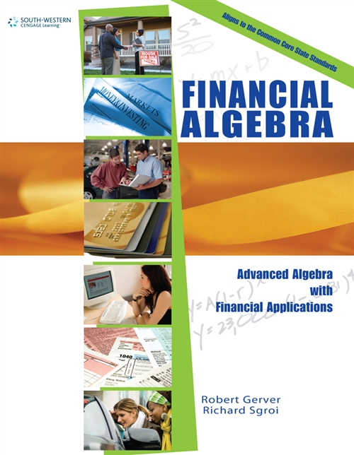Workbook for Gerver/Sgroi's Financial Algebra