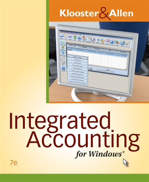Integrated Accounting for Windows® (with Integrated Accounting Software CD-ROM)