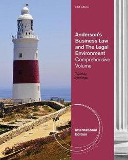 Anderson's Business Law and the Legal Environment : Comprehensive, International Edition