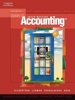 Century 21 Accounting : Advanced (with CD-ROM)