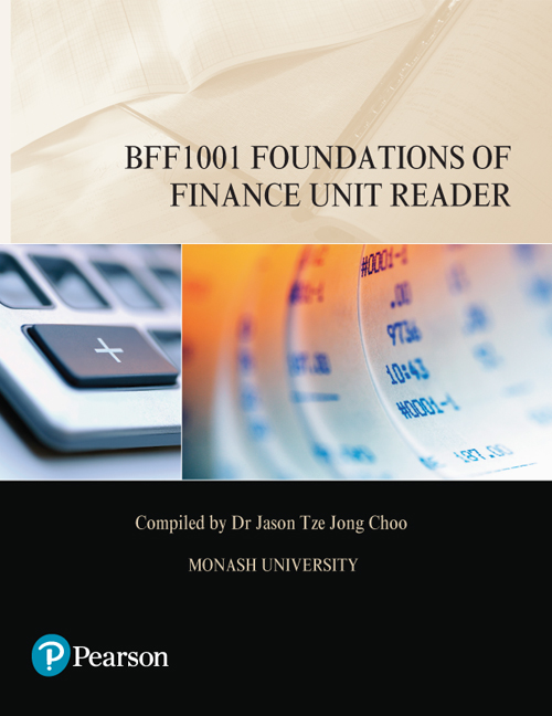 Foundations of Finance Unit Reader BFF1001 (Custom Edition)